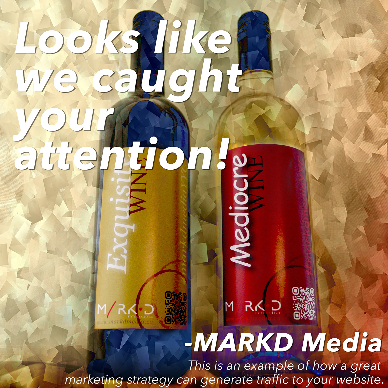 MARKD Wine Bottles